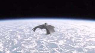 Легендарный космический корабль пришельцев «Черный рыцарь» следил за пуском ракеты Falcon 9