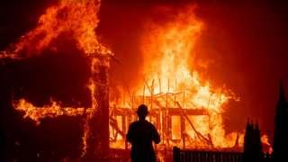 Уфологи обвинили пришельцев в калифорнийских лесных пожарах и объяснили, зачем им это нужно