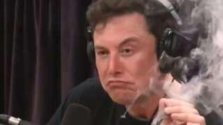 Глава NASA отругал Илона Маска за выкуривание марихуаны