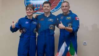 Рогозин рассказал, в каком настроении пребывает новый экипаж МКС