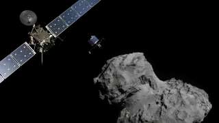 Зонд Rosetta несколько раз пролетел сквозь ударную волну кометы Чурюмова-Герасименко
