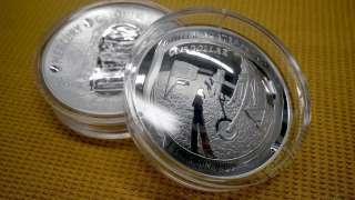 К 50-летию первой высадки человека на Луне в США стали производить необычные монеты