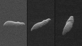 NASA показало фотоснимки опасного гигантского астероида, промчавшегося мимо Земли