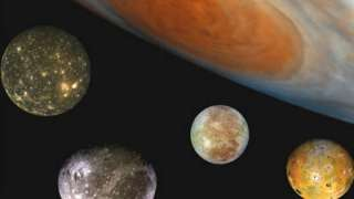 Ровно 409 лет назад Галилео Галилей открыл спутники Юпитера