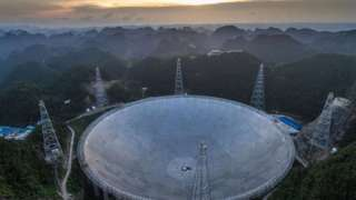 Радиотелескоп FAST зафиксировал таинственные сигналы из космоса, которые могут быть инопланетными
