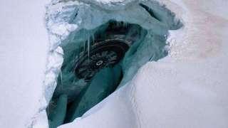 В Антарктиде найдено место крушения НЛО