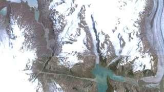 Уфологи считают, что странное образование в Гренландии может быть делом рук пришельцев