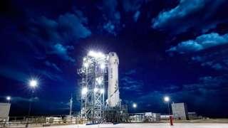 Компания Blue Origin снова перенесла испытание корабля для космического туризма New Shepard