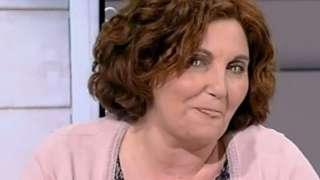 На испанской программе женщина шокировала зрителей своим нечеловеческим взглядом