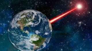 Инопланетяне используют лазеры, чтобы связаться с людьми