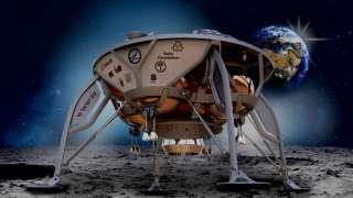 На Луну впервые отправится частный посадочный аппарат