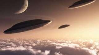 Невероятный случай: В Китае нашествие НЛО сняли на видео