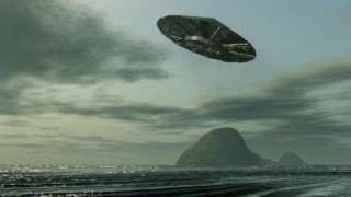 Шокирующее видео с разбившимся на две части НЛО сняли на острове в Индийском океане