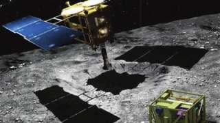 «Хаябуса-2» совершит посадку на астроид Рюгу 22 февраля
