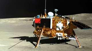 Китайские аппараты «Чанъэ-4» и «Юйту-2» на обратной стороне Луны перешли в спящий режим
