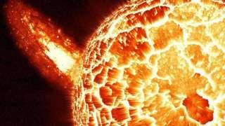 Загадочный объект огромных размеров, появившийся возле Солнце, озадачил учёных