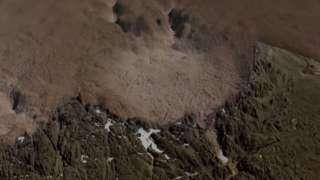 В Гренландии обнаружен крупный ударный кратер