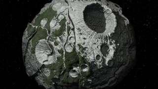 Непонятные объекты на астероиде «Веста» заинтересовали исследователей