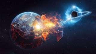 Страшный прогноз ученых: Землю погубят мощные сгустки энергии чёрной дыры