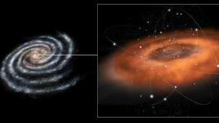 Определена масса черной дыры в центре Млечного Пути