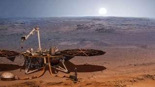 Марсианская станция Mars InSight уловила на Красной планете странный звук