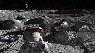 Ученые ESA создают ткань нового поколения для лунного скафандра