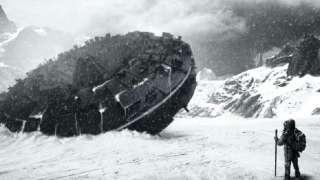 Космический корабль пришельцев нашли в Антарктиде