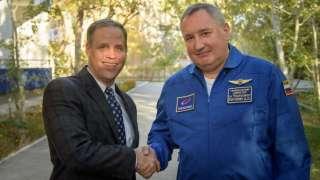 """Рогозин и глава NASA обсудили предстоящий запуск """"Союза"""" и новую лунную программу"""