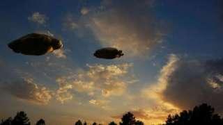 В Нью-Джерси сразу два НЛО попали на видео