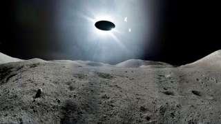 Момент с НЛО, который улетел с Луны и попал на видео, шокировал и конспирологов, и скептиков