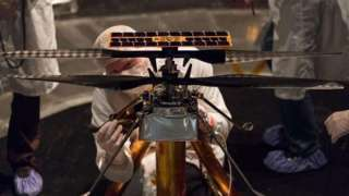 NASA испытало первый в истории марсианский вертолет