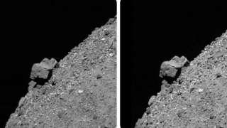 На астероиде Бенну обнаружена 52-метровая скала