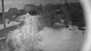 В Самаре зарегистрировано падение метеорита