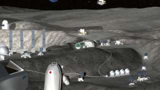 Япония построит базу на Луне при помощи автономных роботов