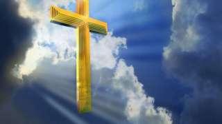 В небе над новосибирской церковью заметили золочёный крест и никто не знает, как он там появился