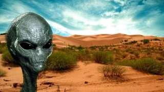 Невероятно, но факт: Настоящий пришелец был снят на видео в мексиканской пустыне