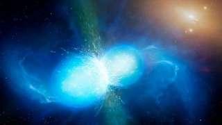 Астрономы второй раз в истории зафиксировали слияние нейтронных звезд