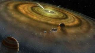 Ученые: Жизнь в Солнечной системе могла быть до появления Земли