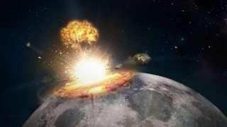 Астрономы зафиксировали падение метеорита на Луну