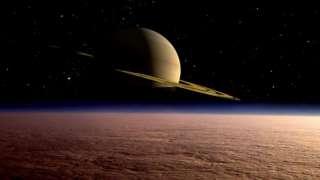 На Титане найдена огромная ледяная стена