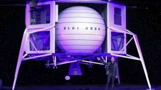Джефф Безос явил миру прототип лунного посадочного аппарата