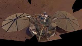 InSight прислал с Марса второе селфи