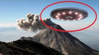 Поразительное видео НЛО над вулканом в Мексике заинтересовало уфологов