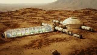 Эксперты изучают предполагаемую базу на Марсе и пытаются понять, как она там оказалась