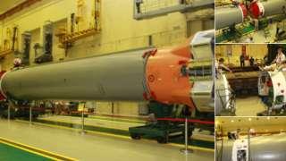На Байконуре начали сборку ракеты «Союз-2» для запуска с первым пилотируемым космическим кораблем
