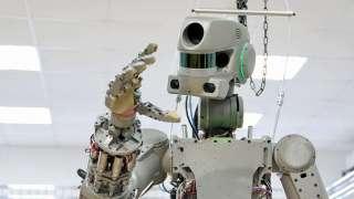 Рогозин рассказал, что робот «Федор» был уменьшен