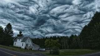 Странные облака над Санкт-Петербургом заинтересовали специалистов