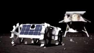 NASA показало новый роботизированный луноход, который отправится на земной спутник в 2021 году