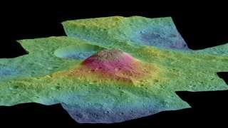Ученые разгадали тайну гигантской горы на Церере