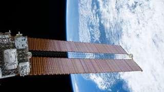Находящийся снаружи МКС прибор для поиска антиматерии нуждается в ремонте